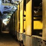 La Mine bleue, Train minier, ©La Mine bleue