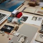 Gwenola Furic, Interventions à l'atelier, © Gwenola Furic