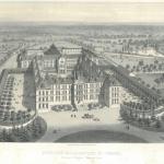 ASMV Collège de Combrée, Lithographie du Collège, © Archives diocésaines Angers