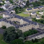 ASMV Collège de Combrée, Vue aérienne, © ETCM