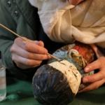 Mans'Art, Restauratrice de sculptures, Nef Cathédrale Saint-Julien, © Association Mans'Art