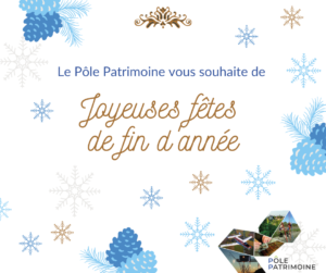 Joyeuses fêtes_Pôle Patrimoine