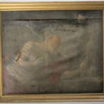 Tableau de St Mars la Jaille avant restauration