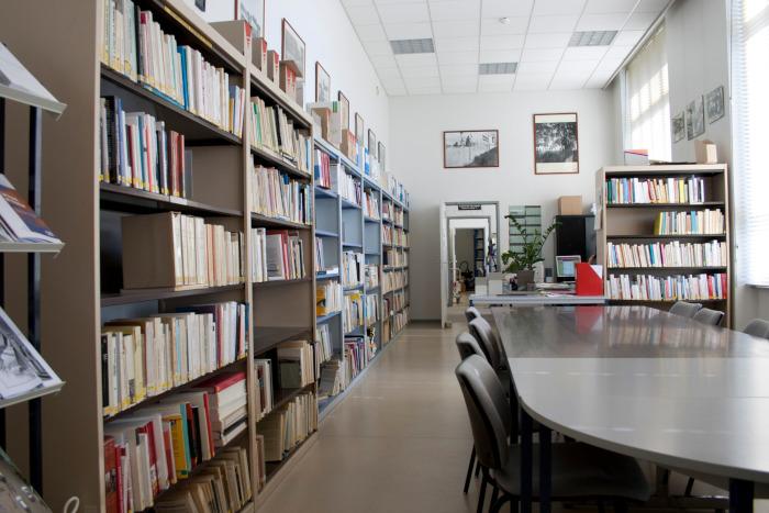 Salle de lecture du CHT