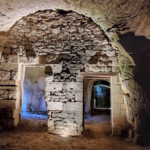 Conception lumière des caves Troglodytes Lambert (49) - Crédit Photo JP Ropers