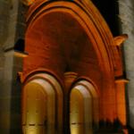 Conception lumière de la chapelle St-Michel de Questembert (56) classé MH - Crédit Photo JP Ropers