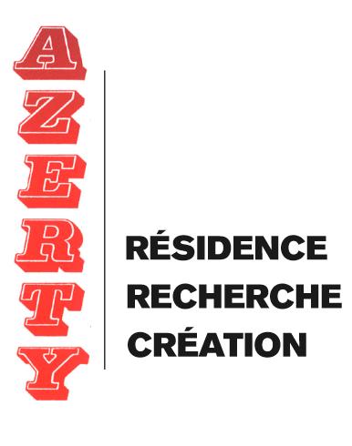 Logo résidence Azerty en couleur police épaisse